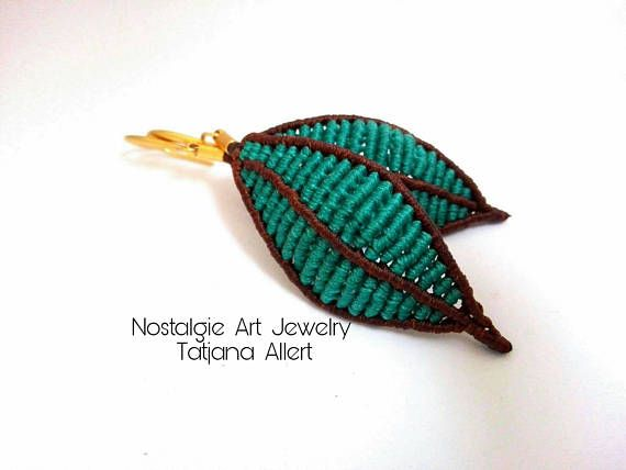 Hey, I found this really awesome Etsy listing at https://www.etsy.com/listing/539446461/macrame-earrings-micro-macrame-leaf