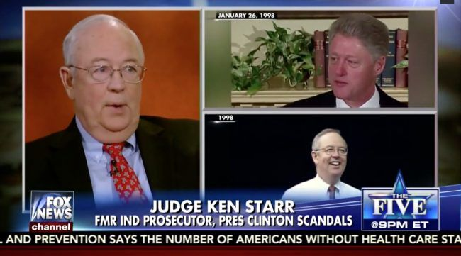 """""""While World Focuses on Trump Security Disclosure, Fox & Friends and Ken Starr Discuss Vince Foster's Death....... YOU HAVE GOT TO BE KIDDING!!!!!"""