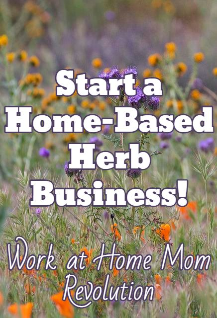 Start A Home Based Herb Business Work At Home Mom Revolution
