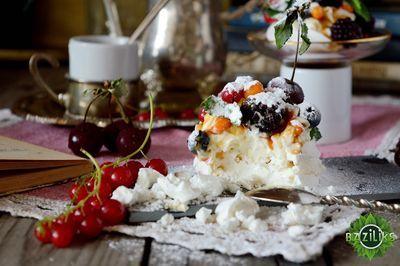 Рецепт: Десерт Павлова / Пирожные