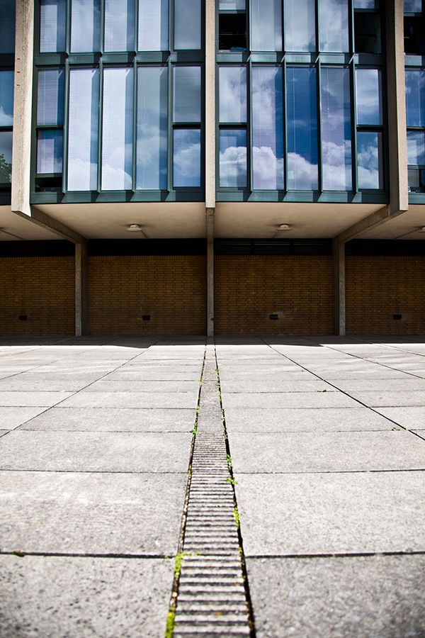 Arne Jacobsen - St Catherine's College, Oxford by Szymon Migaj, via Behance