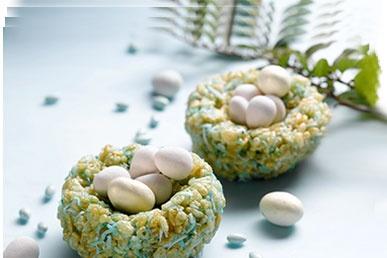 Rice Krispies Egg Nests: Rice Recipes, Birds Nests, Baking Stuff, Bird Nests, Fun Ideas, Chocolates Eggs, Eggs Nests, Easter Ideas, Rice Krispie Treats