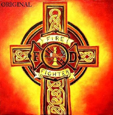 Celtic FireFighter Cross