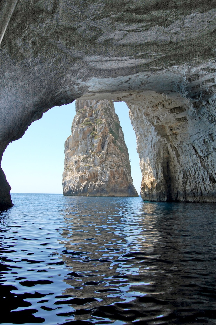 Paxos Island - Caves, Greece