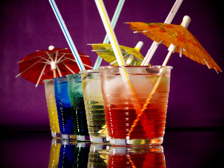 Awesome Umbrella Drinks