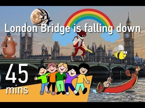 London Bridge is falling down & 22 more Nursery rhymes for you to sing!