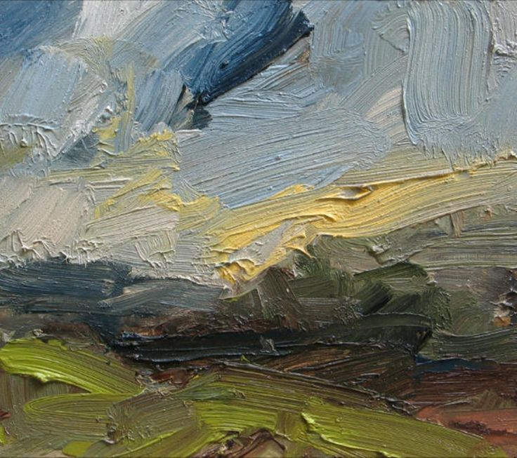 Pale Yellow Cloud, The Downs - Louise Balaam RWA NEAC