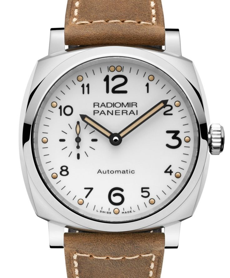"""Panerai Radiomir 1940 3 Days Automatic Acciaio PAM655 Watch For SIHH 2016 -by David Bredan- on aBlogtoWatch """"The Panerai Radiomir 1940 3 Days Automatic Acciaio PAM655 is among the first of Pre-SIHH 2016 releases. It is no news that every year, Panerai debuts a number of new iterations and variations of its tried and proven designs – what is more surprising, though, is that even from what might appear to be a somewhat limited number of ingredients to work with, there still is room for…"""