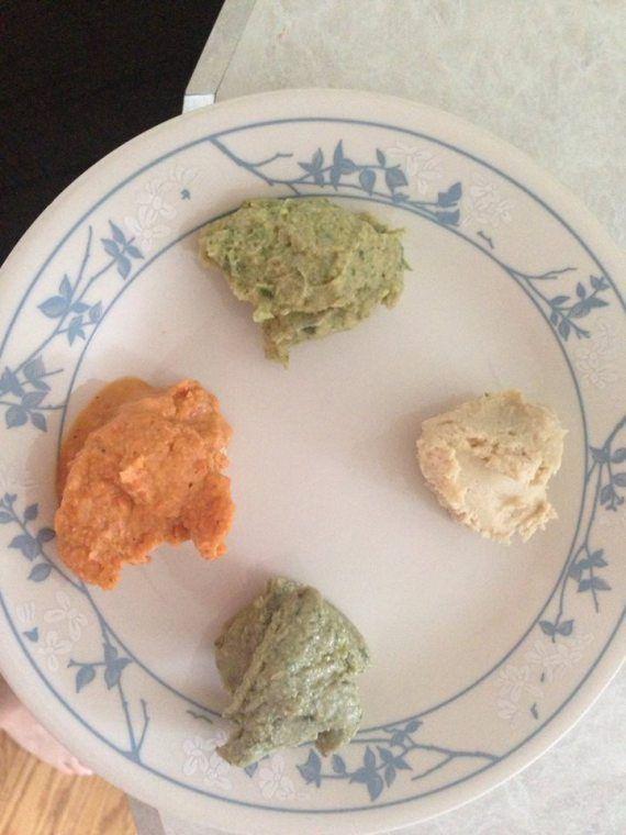 2 different hummus flavors! Pesto Hummus Roasted Red Pepper Hummus Cilantro Jalapeno Lime Hummus Citrus Plain Hummus
