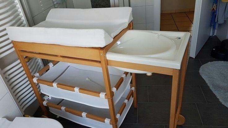 Wanne muss jetzt raus bitte zugreifen!  Baby Badewanne-Wickelauflage kombination
