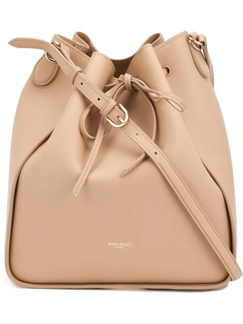 This Nina Ricci bag pairs perfectly with an all white outfit.