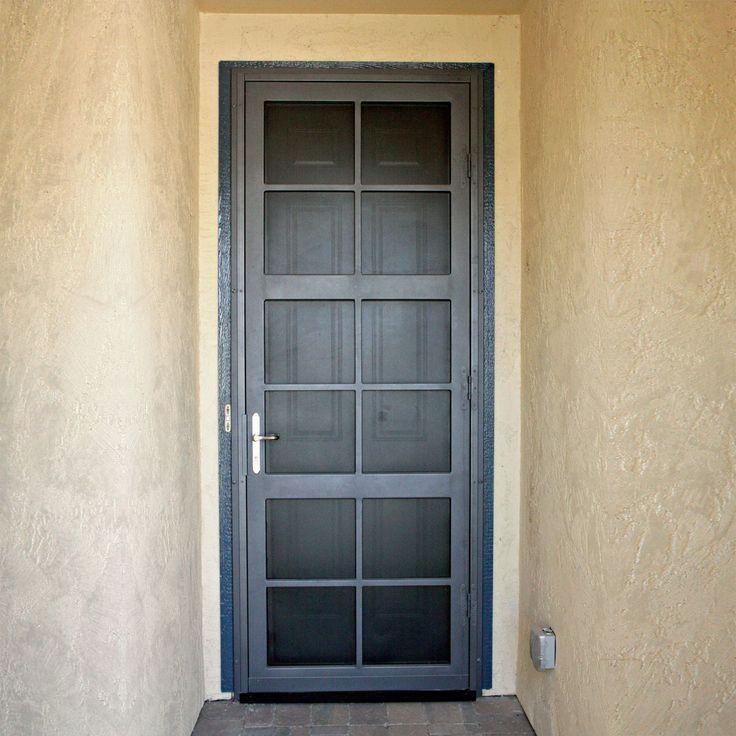 Pin By West Tennessee Ornamental Door On Security Doors Security Screen Door Security Door Screen Door