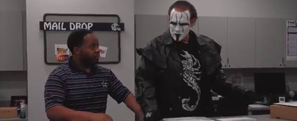 After appearing on the Dallas Cowboys radio show a few days back, Sting appears in this new comedy video as the new Intimidation Coach for the NFL team: ht