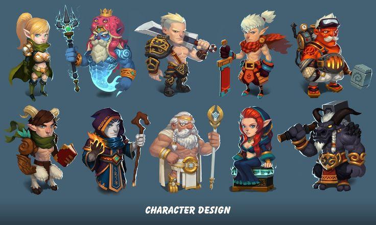 character design, Zhang Yi on ArtStation at https://www.artstation.com/artwork/character-design-2344f48d-8c2f-4eab-973f-f3a7b8c25ef8