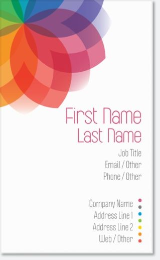34 best business cards images on pinterest business cards why youll love white rainbow vertical premium business cards reheart Choice Image