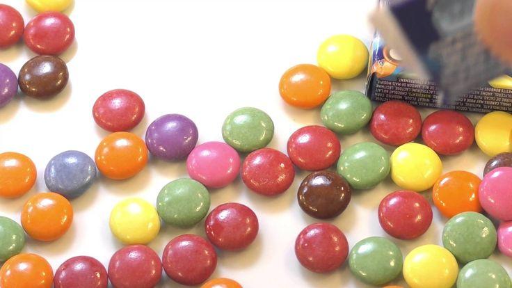 Smarties Chocolate - surprise 10 packs open video Uncut Version by Pooh ...