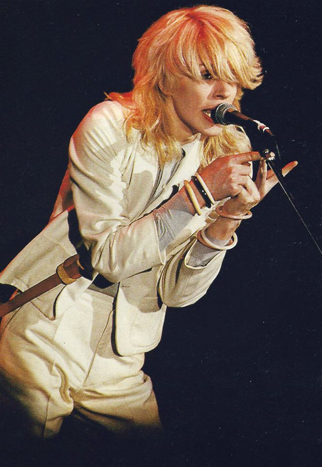 David Sylvian performing in the mid-late 1970's.