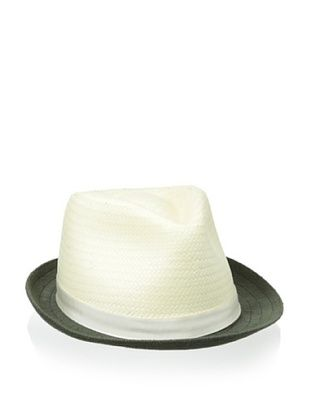 68% OFF Kangol Luxe Men's Connect Arnold (White/ Kelp Brim)