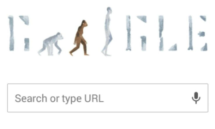Lucy The Australopithecus:  Google Doodle Celebrates Discovery Of The Oldest Hominid.