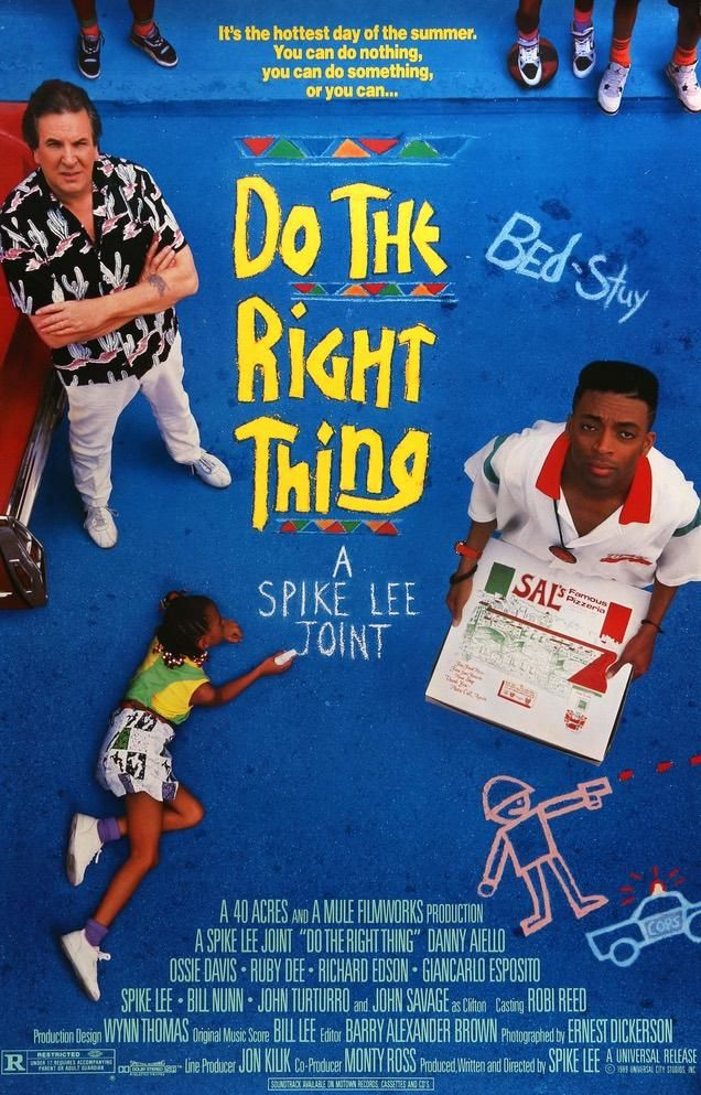 Do the Right Thing (1989) Original One-Sheet Movie Poster