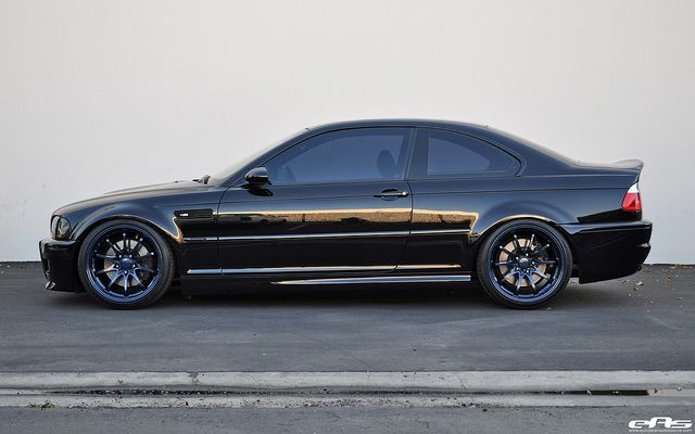 Black E46 M3 CE28 6 by european auto source, via Flickr