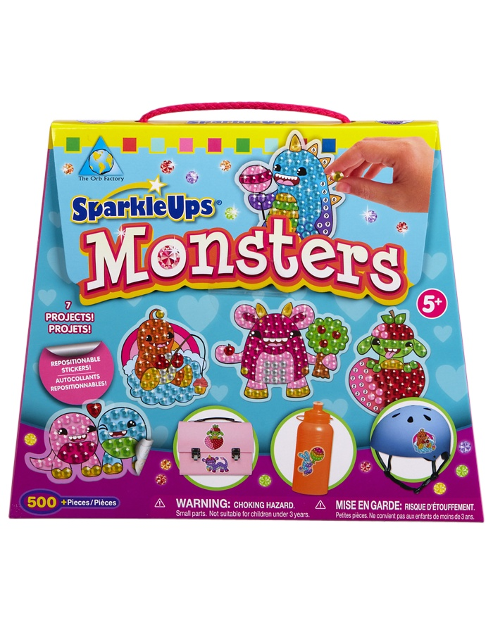 Just For Girls Toys : Sparkle up monsters kit crafts toys shop