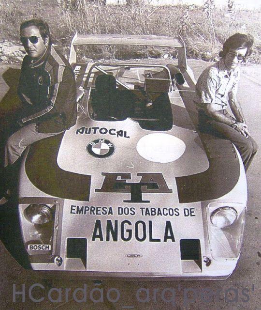 Lola T 292 Scnitzer com Mabílio de Albuquerque e Hélder de Sousa, 1974 | Criação de Sites | Web Design - www.novaimagem.co.pt