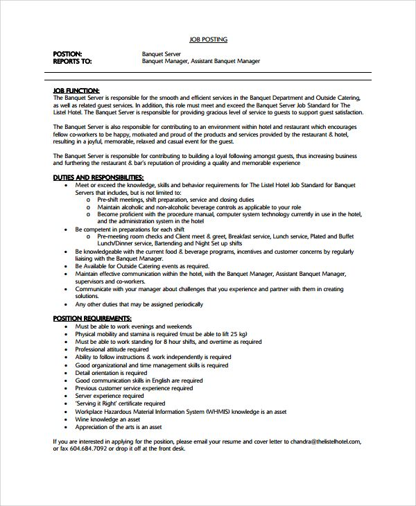 sample waiter resume documents pdf word job resumes for waitress food service amp