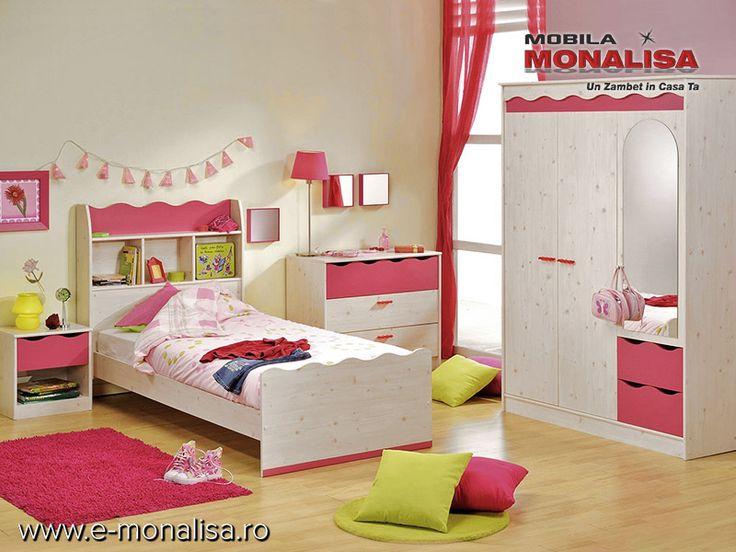 Mobila camera copii fete Lolita