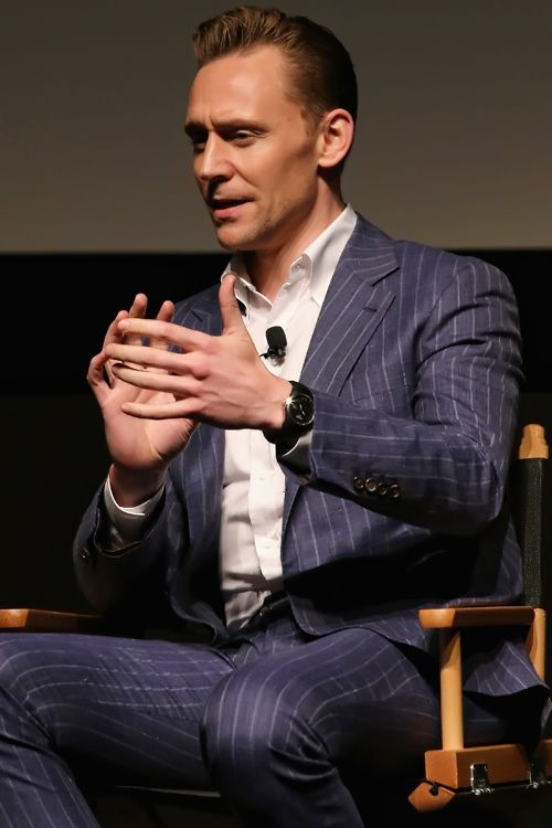 Tom Hiddleston onstage after the Tribeca Film Festival screening and panel of AMC's The Night Manager at SVA Theatre on April 15, 2016 in New York City. Full size image: http://ww4.sinaimg.cn/large/6e14d388jw1f2y7wexgb3j225537p7rs.jpg Source: Torrilla, Weibo