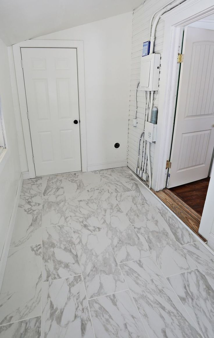 Bathroom tiles laying design - I Actually Really Like The Look Of This Marble Tile