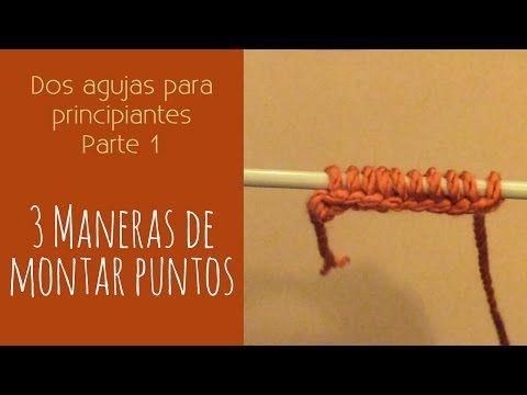 Cómo tejer los bordes para delanteras. Tejido con dos agujas # 549 - YouTube
