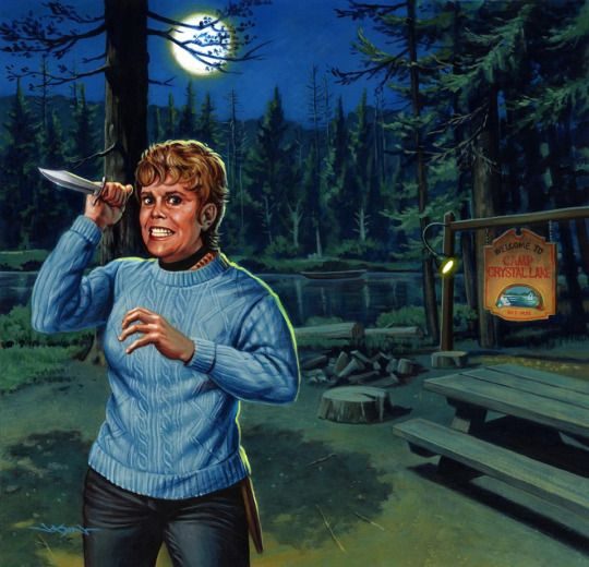 Mrs. Voorhees by Jason Edmiston