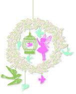 #djeco #mobiel #fee #fairy #babykamer #nursery #littlebigroom #pink #birds #kidsdecor #baby