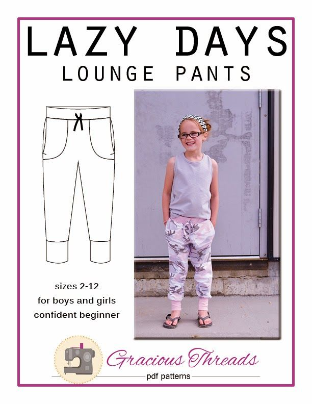 Gracious Threads: Introducing the Lazy Days Lounge Pants