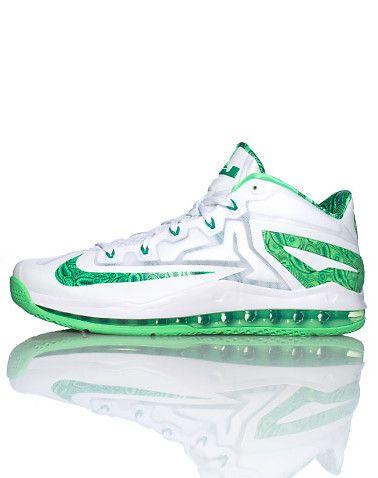 NikeMax lebron xi low    white