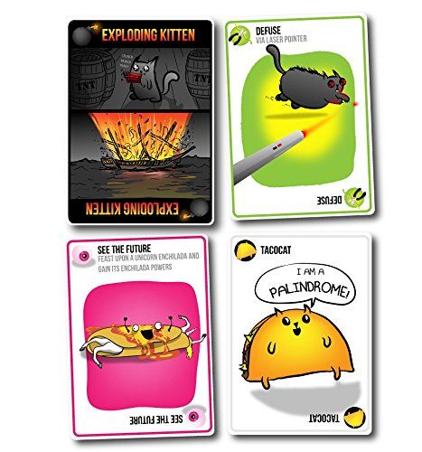 Great game for all ages - Exploding Kittens: A Card Game About Kittens and Explosions and Sometimes Goats