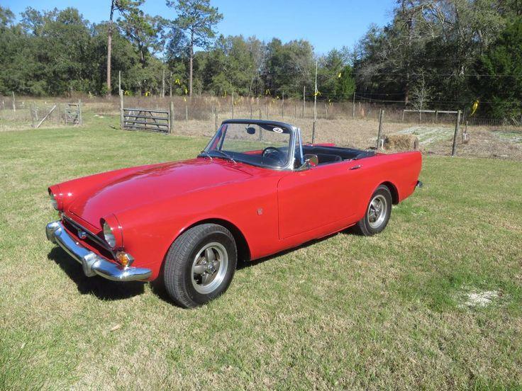 1967 Sunbeam Alpine Red Convertible 10,000 Gainesville