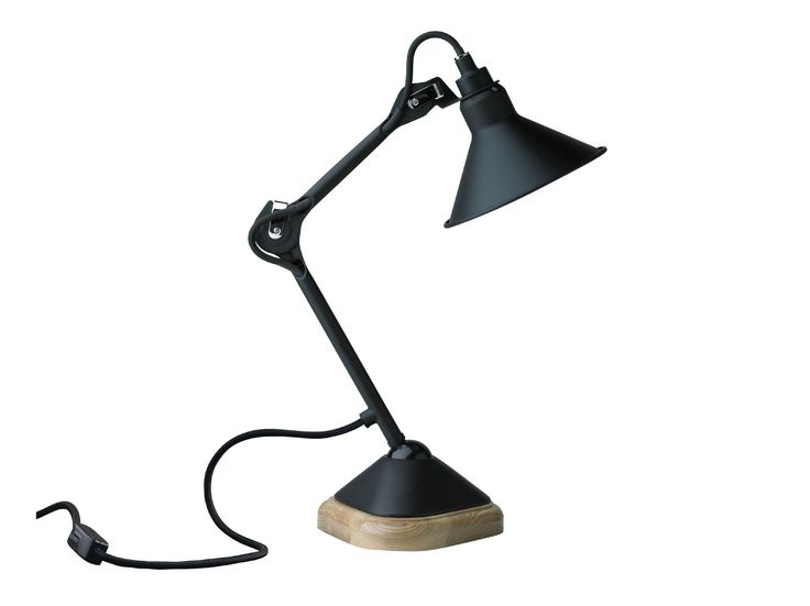 Swivel adjustable with swing arm table lamp N°207 Table Lamp Collection by DCW éditions
