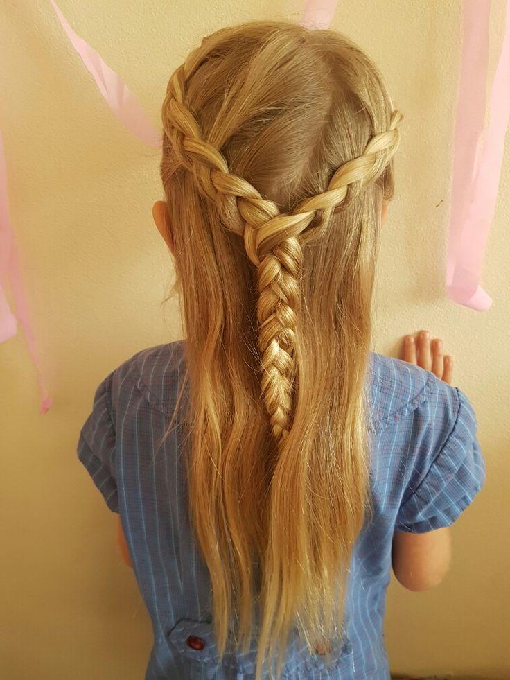 Birthday hair for school.