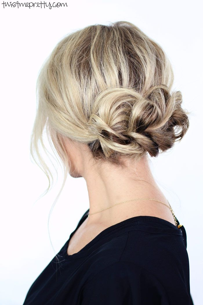 Elegant Holiday Updo - Twist Me PrettyTwist Me Pretty
