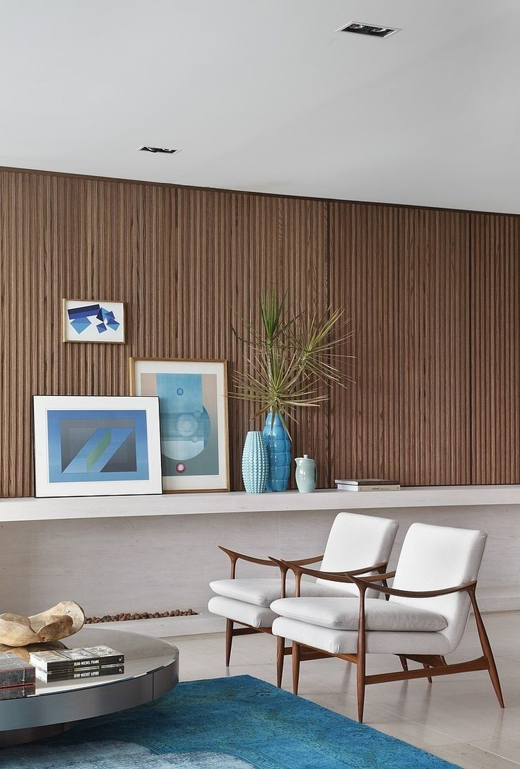 With An Unexpected Mix Of Materials, Colors, And Design Elements, This Room  Creates