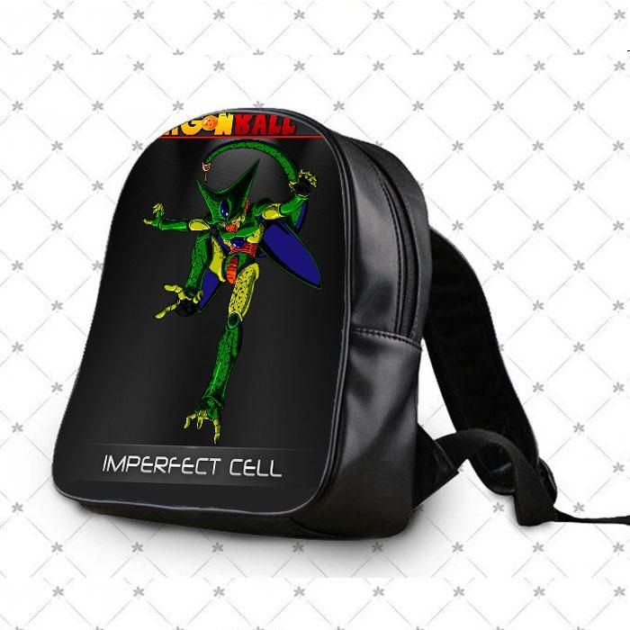 Dragon Ball Z Imperfect Cell Form School Bag Backpacks