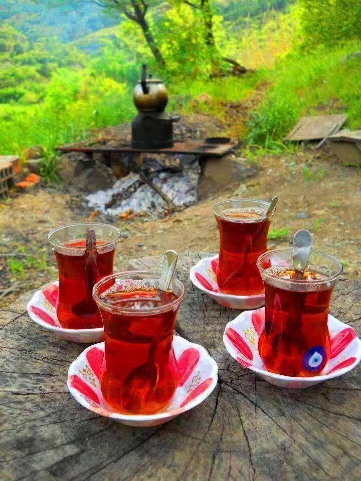 一天的開始一起來享用好喝的土耳其紅茶Çay!:) ©Eyüp Islamoğlu