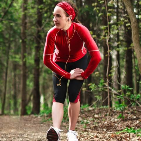 """Trail running tips from Shape Magazine. """"Running on uneven terrain burns more calories and helps improve your balance, agility and coordination"""""""