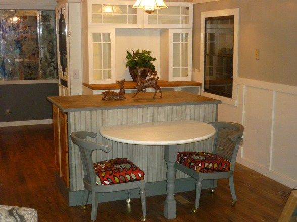 92 best lovely living rooms mobile manufactured homes for Single wide mobile home kitchen ideas