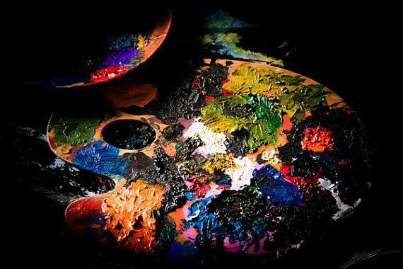 The Colours of an Artist  6000 x 4000 pixels  by StarPoint9