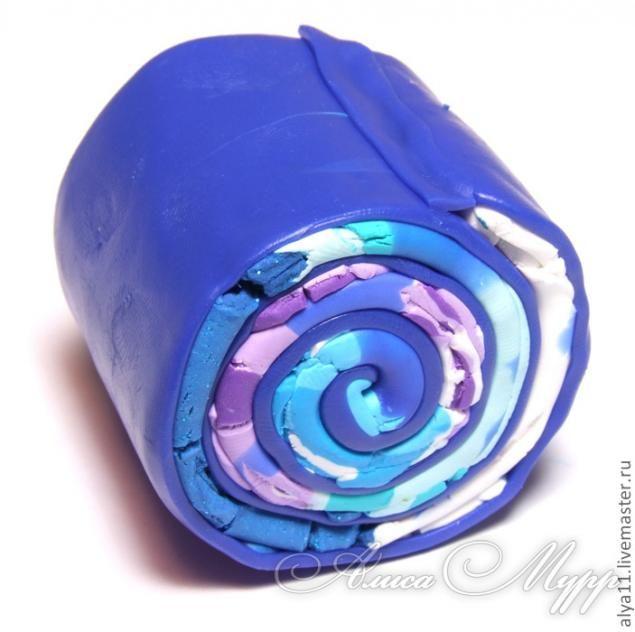 """Kane """"spirala colorat"""" de polimer argilă - Targul de masterat - manual, manual"""