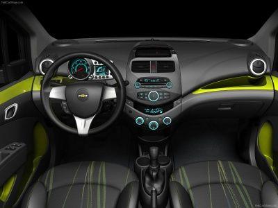 Chevrolet Spark 2010 Dashboard