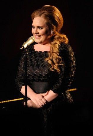 Celebrity Hairspiration + How to: Adele's Side Ponytail